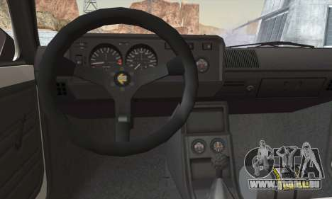 Volkswagen Golf Mk1 GTi für GTA San Andreas zurück linke Ansicht