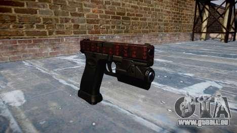 Pistole Glock 20 Kunst des Krieges für GTA 4
