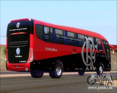 Marcopolo Paradiso 1200 G7 4X2 C.R.F Flamengo pour GTA San Andreas vue de droite