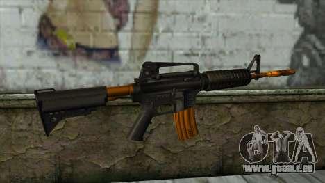 Nitro M4 für GTA San Andreas zweiten Screenshot