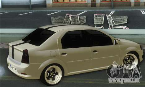 Dacia Logan 1.6 Street für GTA San Andreas linke Ansicht