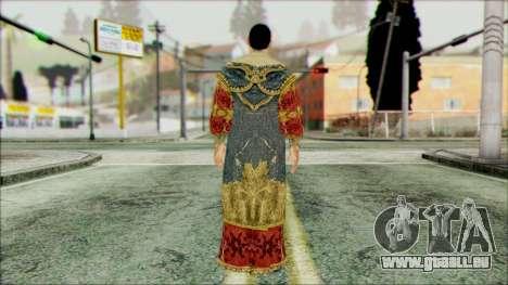 Suleiman from Assassins Creed pour GTA San Andreas deuxième écran