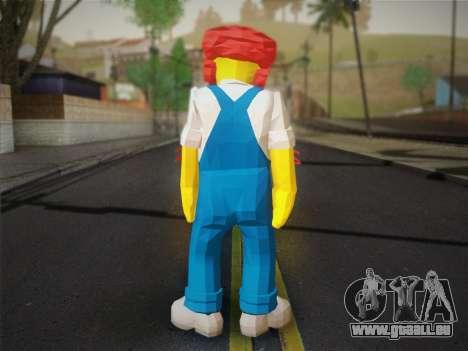 Der Hausmeister Willy Aus Den Simpsons: Road Rag für GTA San Andreas zweiten Screenshot