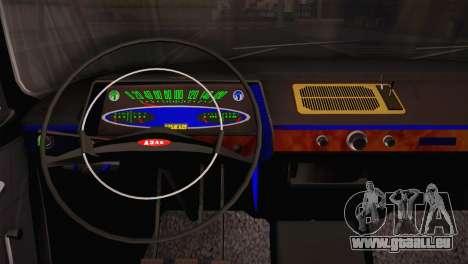 Moskwitsch 412 für GTA San Andreas zurück linke Ansicht