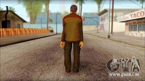 GTA 5 Ped 8 für GTA San Andreas zweiten Screenshot