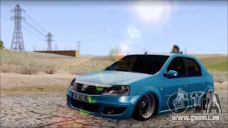Dacia Logan BS GARAGE pour GTA San Andreas