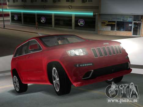 Jeep Grand Cherokee SRT-8 (WK2) 2012 für GTA Vice City