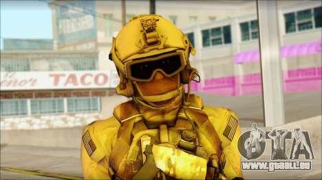 USAss from BF4 für GTA San Andreas dritten Screenshot