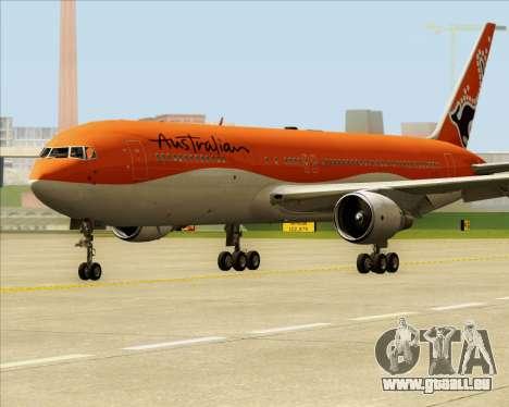 Boeing 767-300ER Australian Airlines pour GTA San Andreas laissé vue