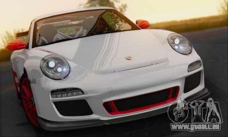 Porsche 911 GT3 2010 pour GTA San Andreas vue arrière