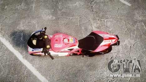 Ducati 1198 R für GTA 4 rechte Ansicht
