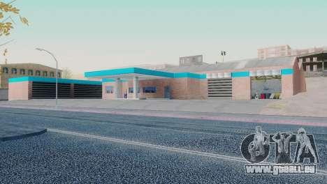 Neue Texturen garage in San Fierro für GTA San Andreas