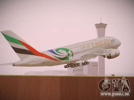 Airbus A380-800 Emirates Rugby World Cup pour GTA San Andreas