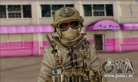 Task Force 141 (CoD: MW 2) Skin 7 für GTA San Andreas dritten Screenshot