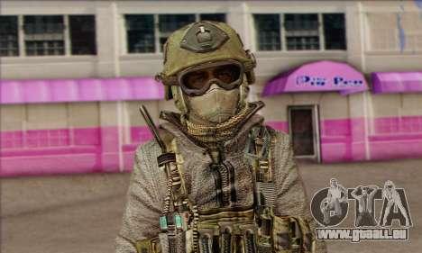 Task Force 141 (CoD: MW 2) Skin 7 für GTA San Andreas dritten Screenshot