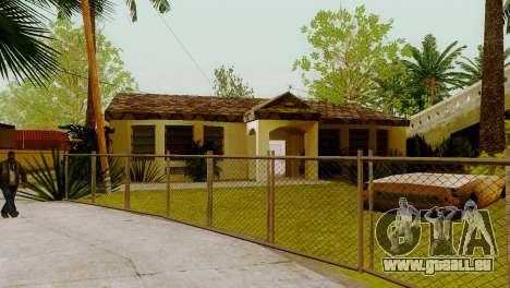 De nouvelles textures maisons sur grove street pour GTA San Andreas troisième écran