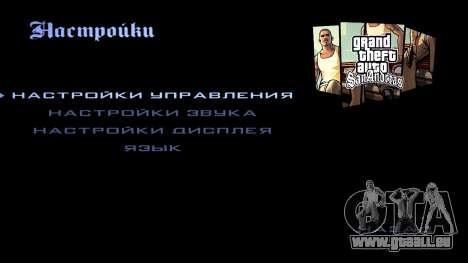 HD écran de chargement et de menus pour GTA San Andreas dixième écran
