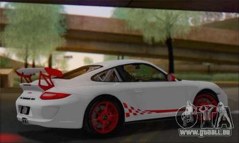 Porsche 911 GT3 2010 pour GTA San Andreas vue intérieure