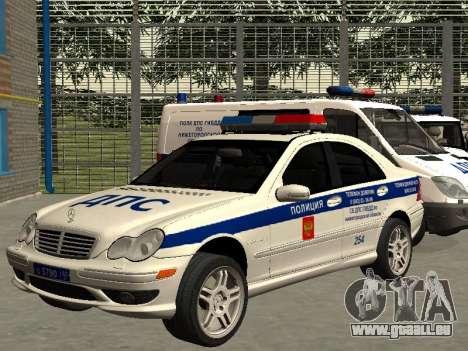 Mercedes Dps pour GTA San Andreas