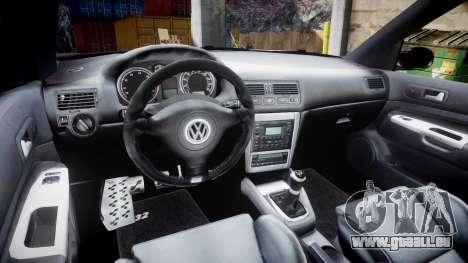 Volkswagen Golf Mk4 R32 Wheel2 für GTA 4 Rückansicht