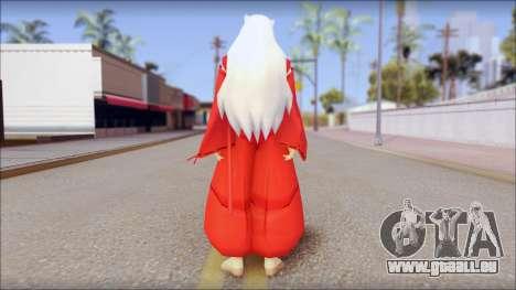 InuYasha pour GTA San Andreas deuxième écran