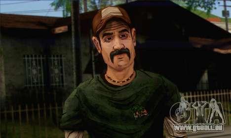 Kenny from The Walking Dead v1 für GTA San Andreas dritten Screenshot