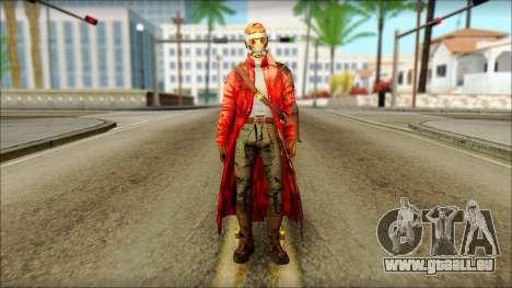 Guardians of the Galaxy Star Lord v2 für GTA San Andreas