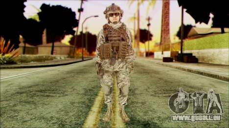 Ranger (CoD: MW2) v4 pour GTA San Andreas