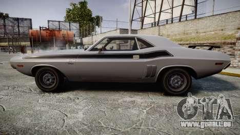 Dodge Challenger 1971 v2.2 PJ3 pour GTA 4 est une gauche