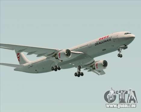 Airbus A330-300 Dragonair für GTA San Andreas Rückansicht