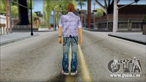 Marty from Back to the Future 1985 für GTA San Andreas zweiten Screenshot