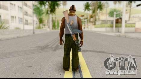MR T Skin v8 pour GTA San Andreas deuxième écran