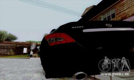 Nissan Maxima pour GTA San Andreas vue de droite