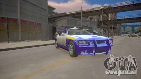 Dodge Charger Kuwait Police 2006 pour GTA 4