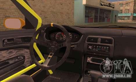 Nissan 200sx Drift Monster Energy für GTA San Andreas zurück linke Ansicht