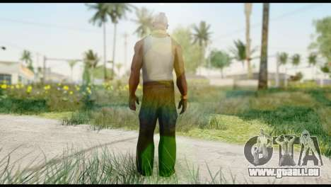 MR T Skin v2 für GTA San Andreas zweiten Screenshot