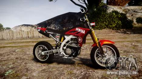 Yamaha YZF-450 SuperMoto Custom für GTA 4 linke Ansicht