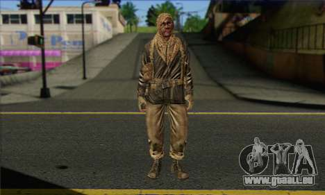 Task Force 141 (CoD: MW 2) Skin 18 pour GTA San Andreas