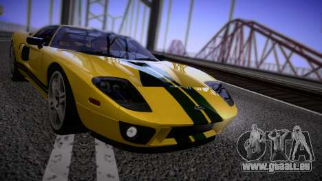 Ford GT 2005 Road version pour GTA San Andreas