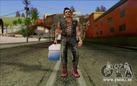 Claude in Pank Style für GTA San Andreas