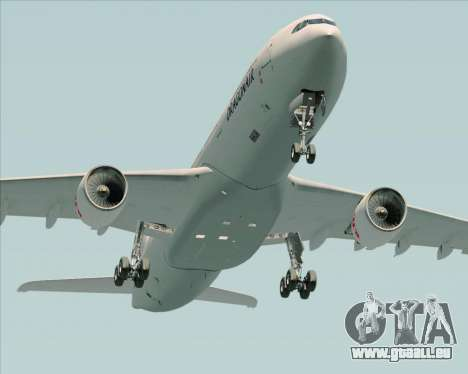Airbus A330-300 Dragonair für GTA San Andreas Unteransicht
