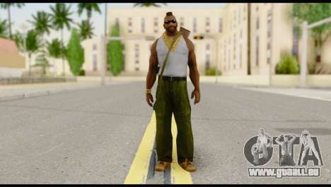 MR T Skin v8 für GTA San Andreas