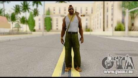 MR T Skin v8 pour GTA San Andreas