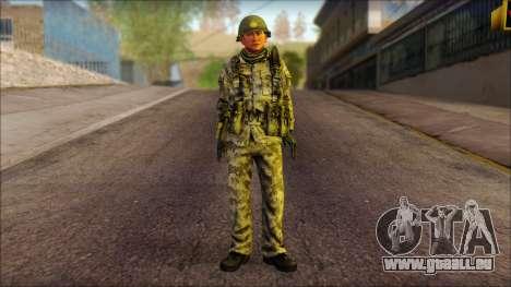 Ein Nordkoreanischer Soldat (Schurke, Krieger) für GTA San Andreas