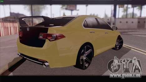 Honda Accord Mugen für GTA San Andreas linke Ansicht