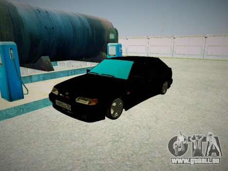 VAZ 2114 pour GTA San Andreas laissé vue