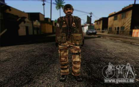Soldaten MEK (Battlefield 2) Haut 4 für GTA San Andreas