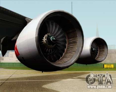 Airbus A380-841 Qantas pour GTA San Andreas vue de côté