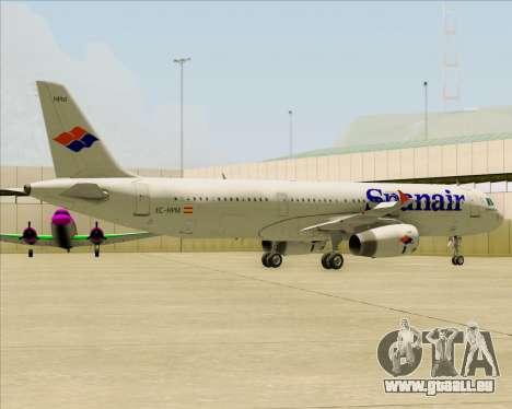 Airbus A321-231 Spanair pour GTA San Andreas moteur