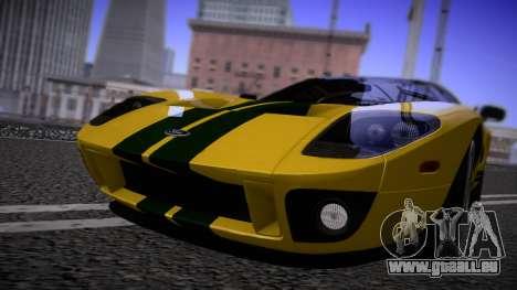 Ford GT 2005 Road version pour GTA San Andreas laissé vue